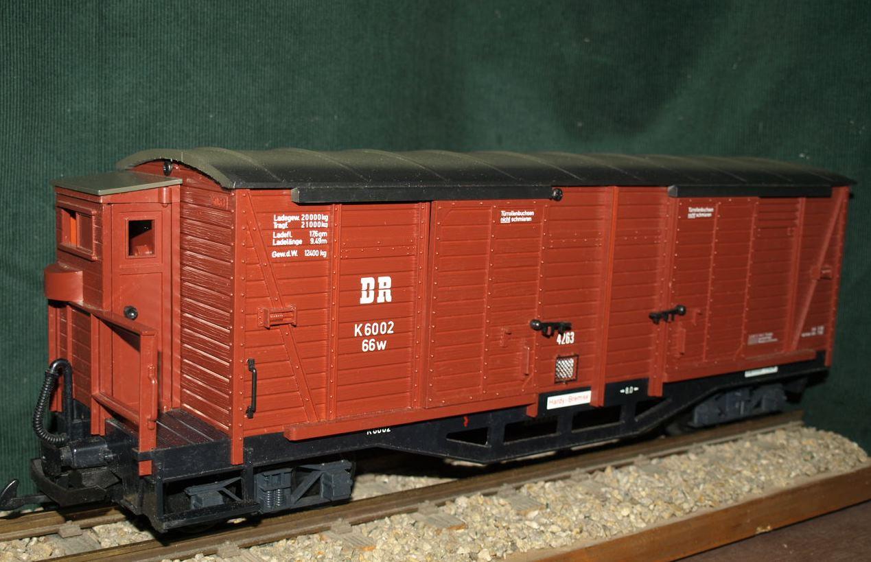 41630 DR ged. Güterwaggon, 4ax