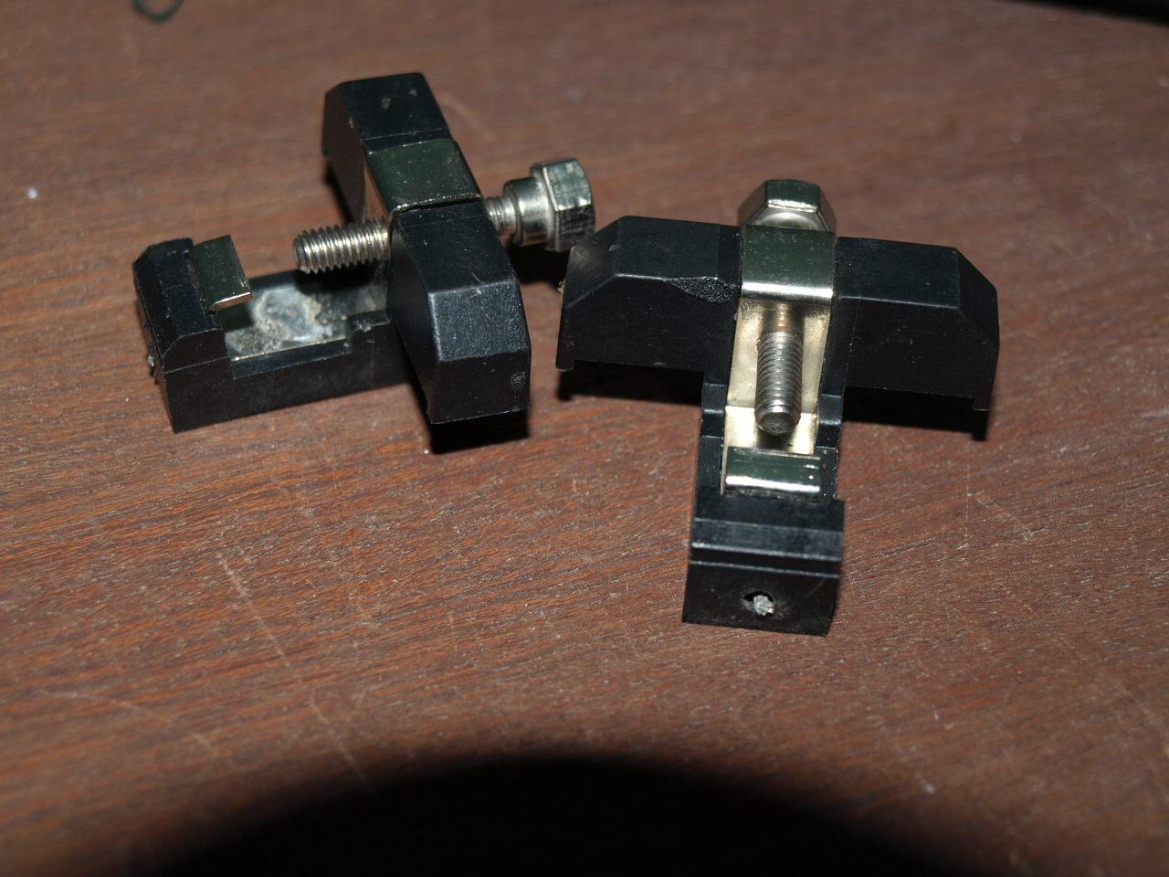 LGB Gleisanschlussklemmen