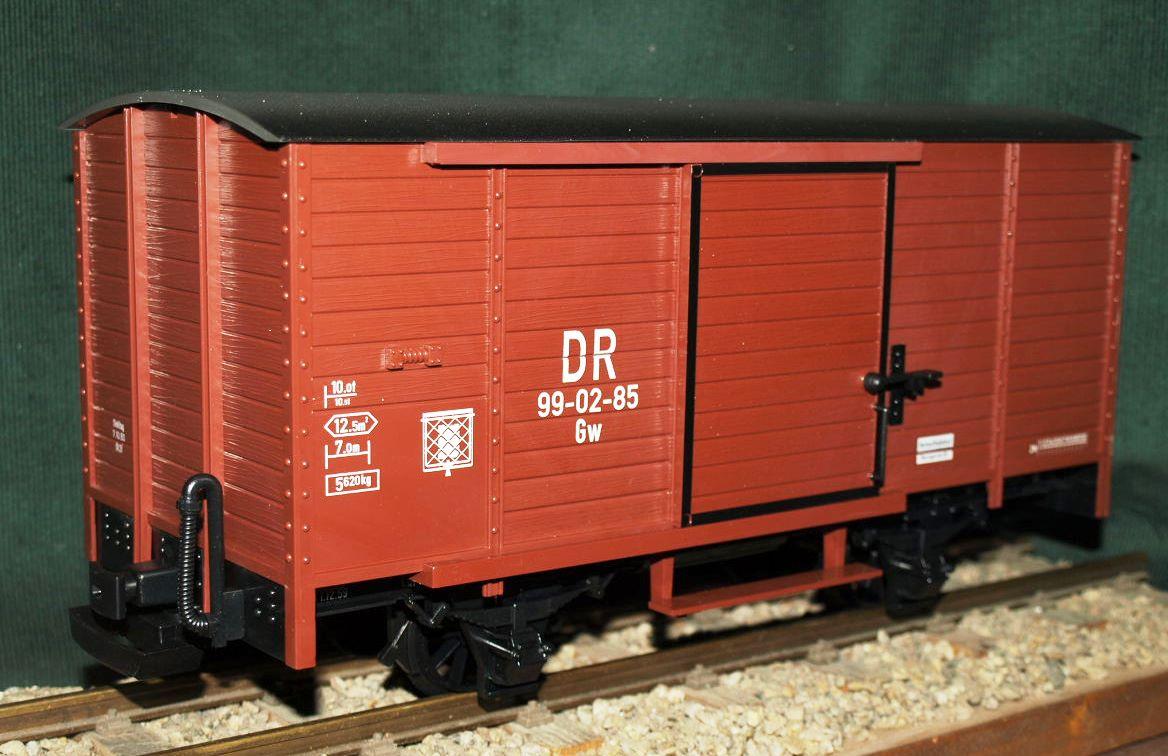 4035 DR Güterwaggon o. K.