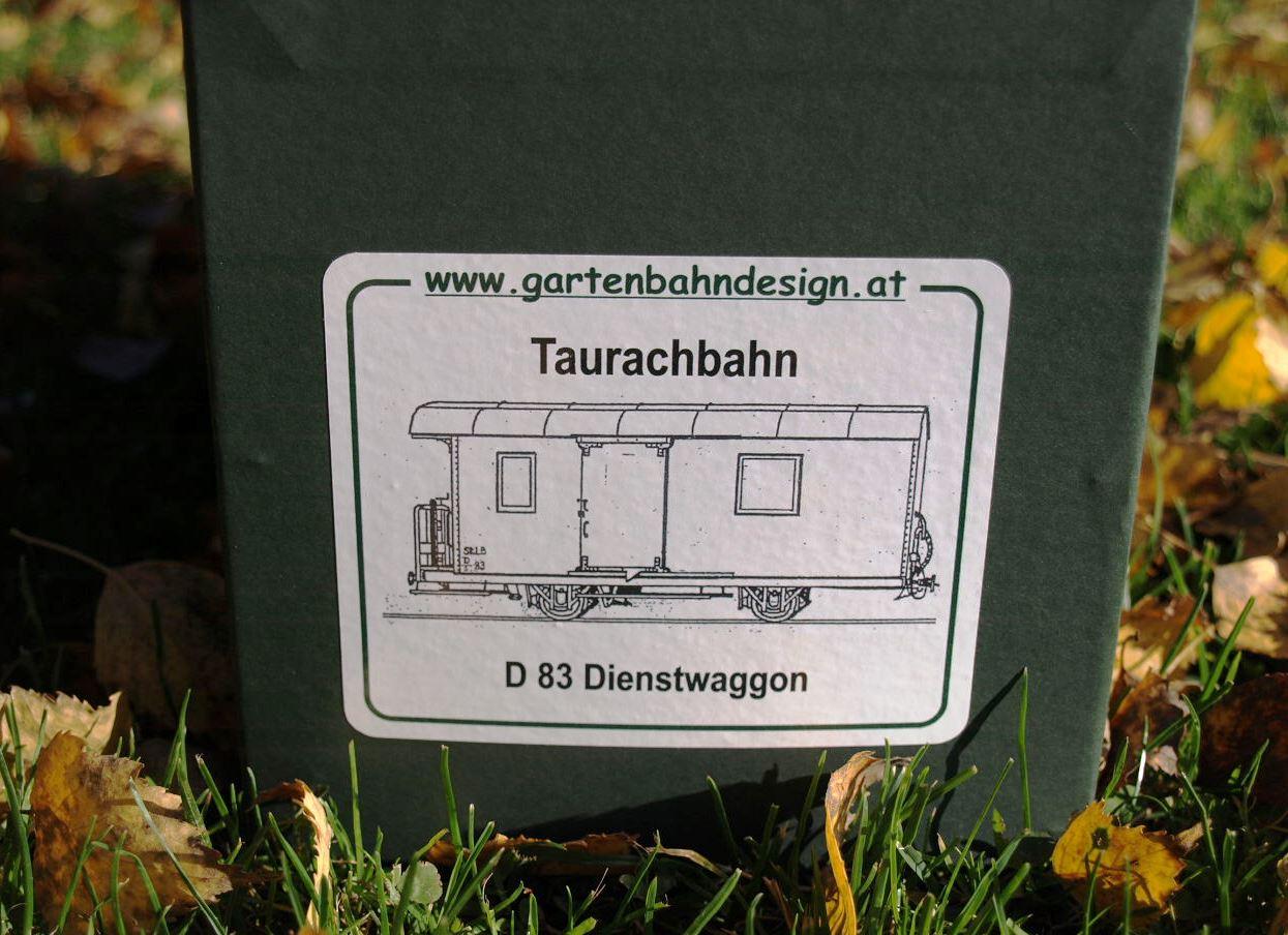 D 83 - Etikett