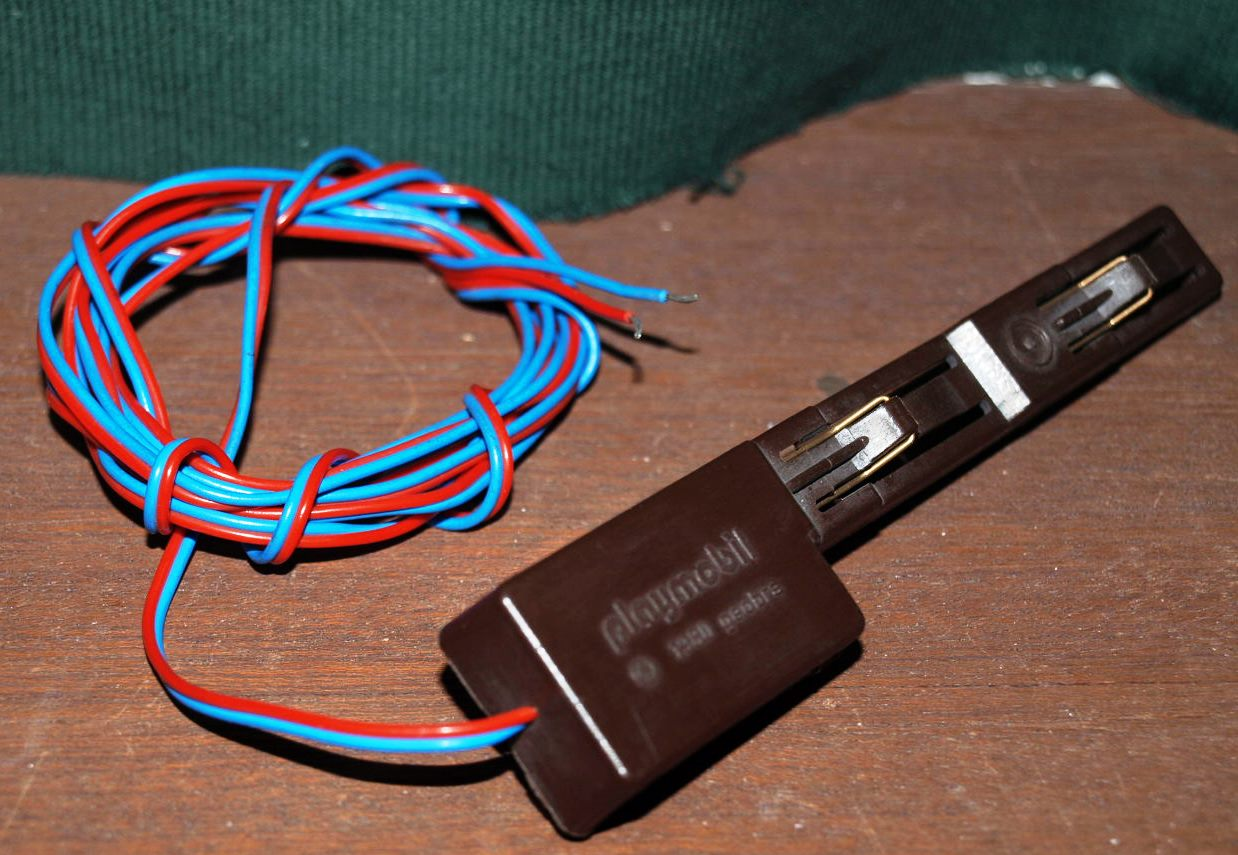 Playmobil-Gleisanschluss ohne Stecker