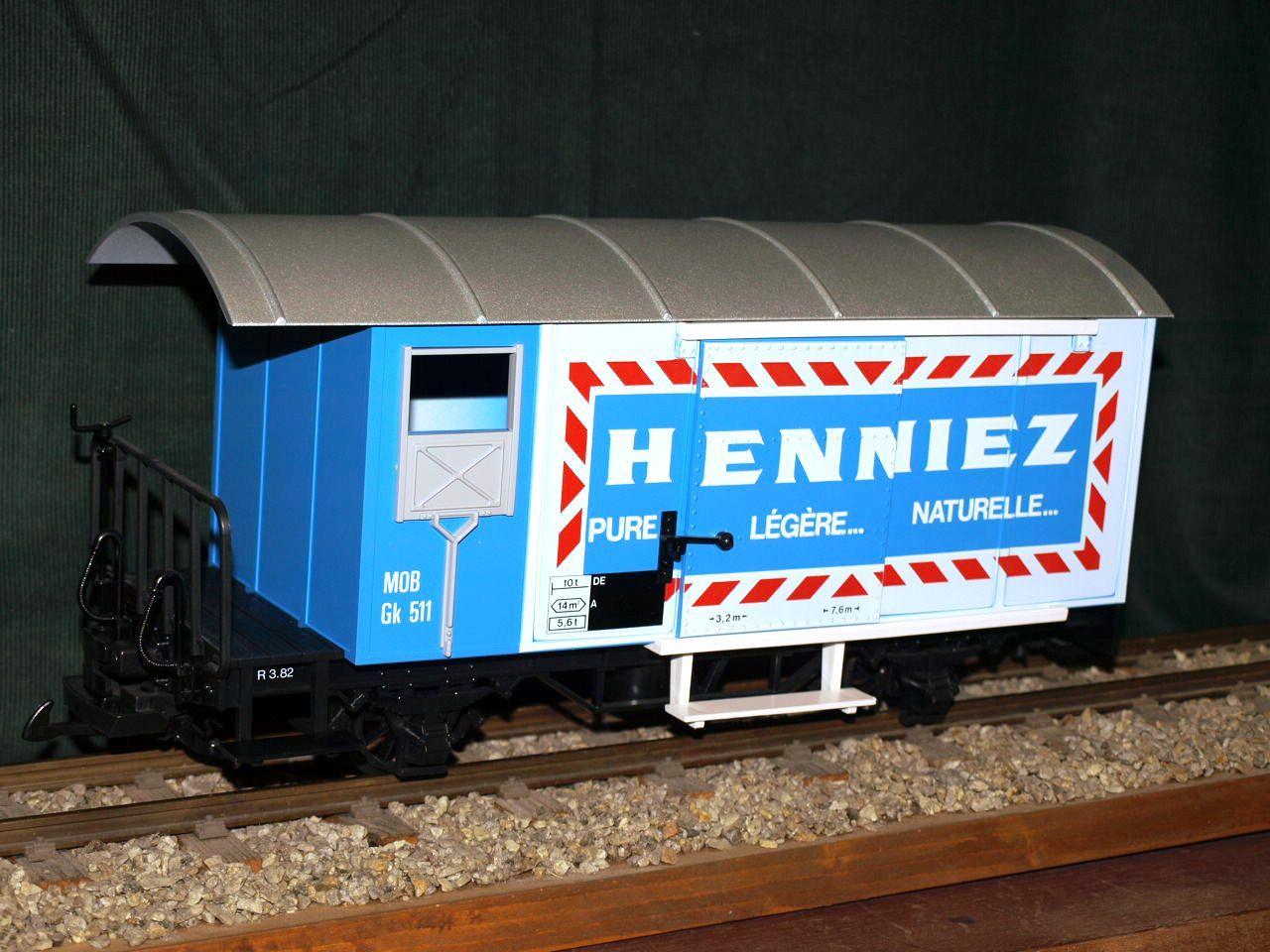 RhB Güterwaggon